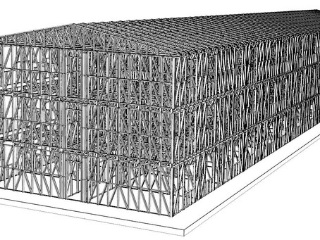 The organization of mobile production of LGS framework of the building on the construction site