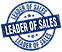 leader-of-sales-blue-round-grunge-stamp-