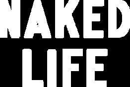NAKED LIFE BRANDMARK PRIMARY VERTICAL WH