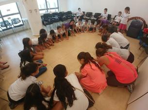 קייטנה לילדי עובדים - משחקי קבוצות
