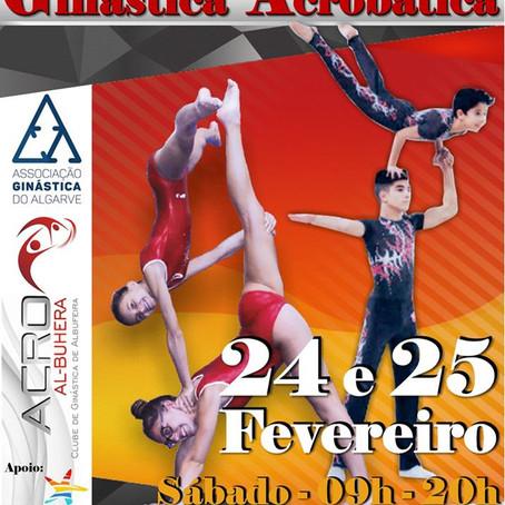 Torneio Aberto de Ginástica Acrobática | Albufeira