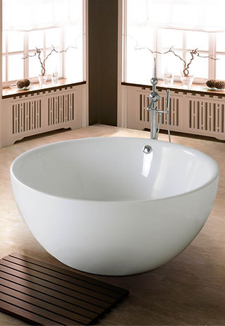 beautiful-cast-iron-tub-with-bowl-shape-