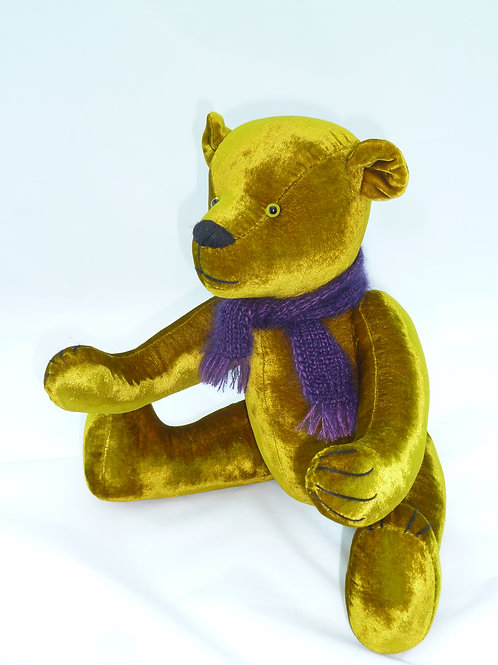 Fully Jointed OLIVER TEDDY BEAR by LORABILA