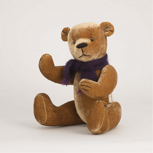 Fully Jointed AMBER TEDDY BEAR by LORABILA
