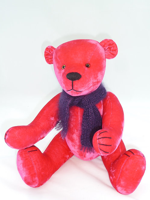 Fully Jointed ZOE TEDDY BEAR by LORABILA.