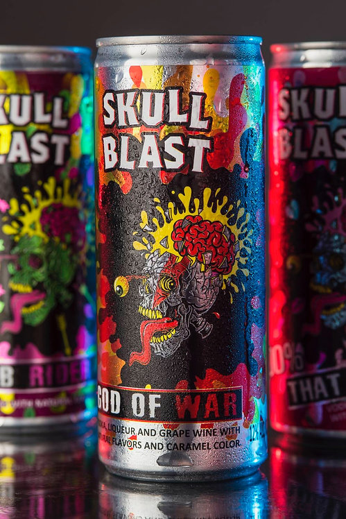 Skullblast Cocktails - God of War