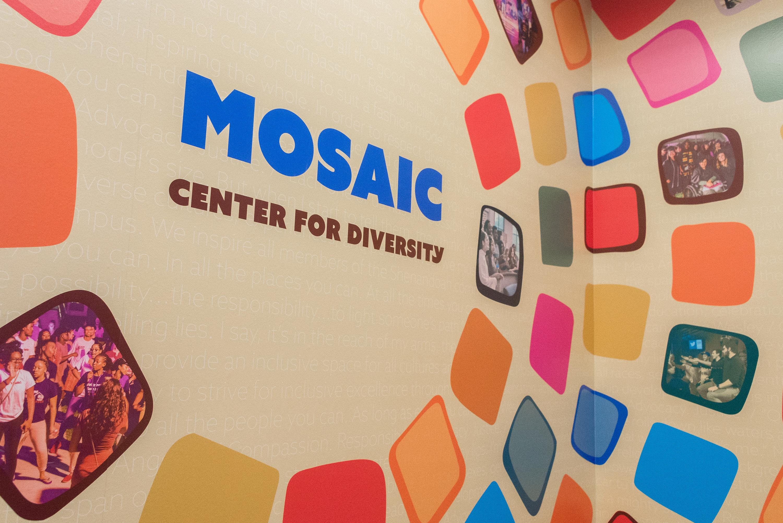 Mosaic Center Vinyl Mural