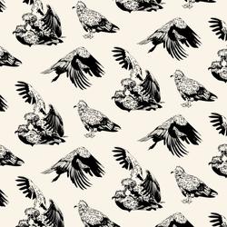 Egyptian Vulture Pattern