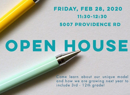 OPEN HOUSE 2/28/20