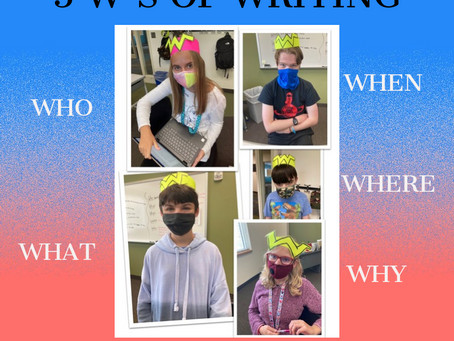 5 W's of Writing