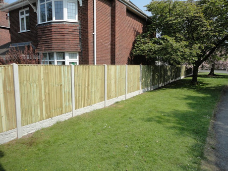 Tanalised Vertilap Fencing
