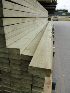 We stock all sizes of Tanalised timber