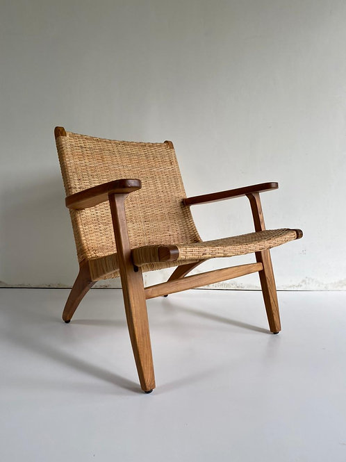 Singo Arm Chair Teak Wood & Rattan