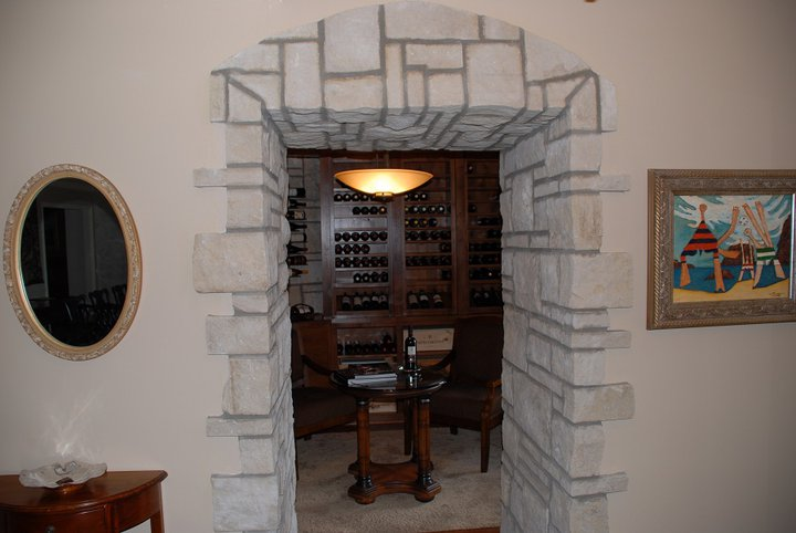 Wine Cellar Enterance