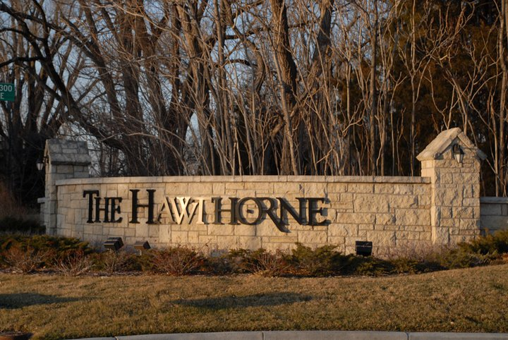 Hawthorne Sign