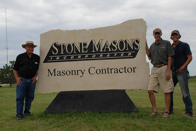 Three generations of excellence in masonry