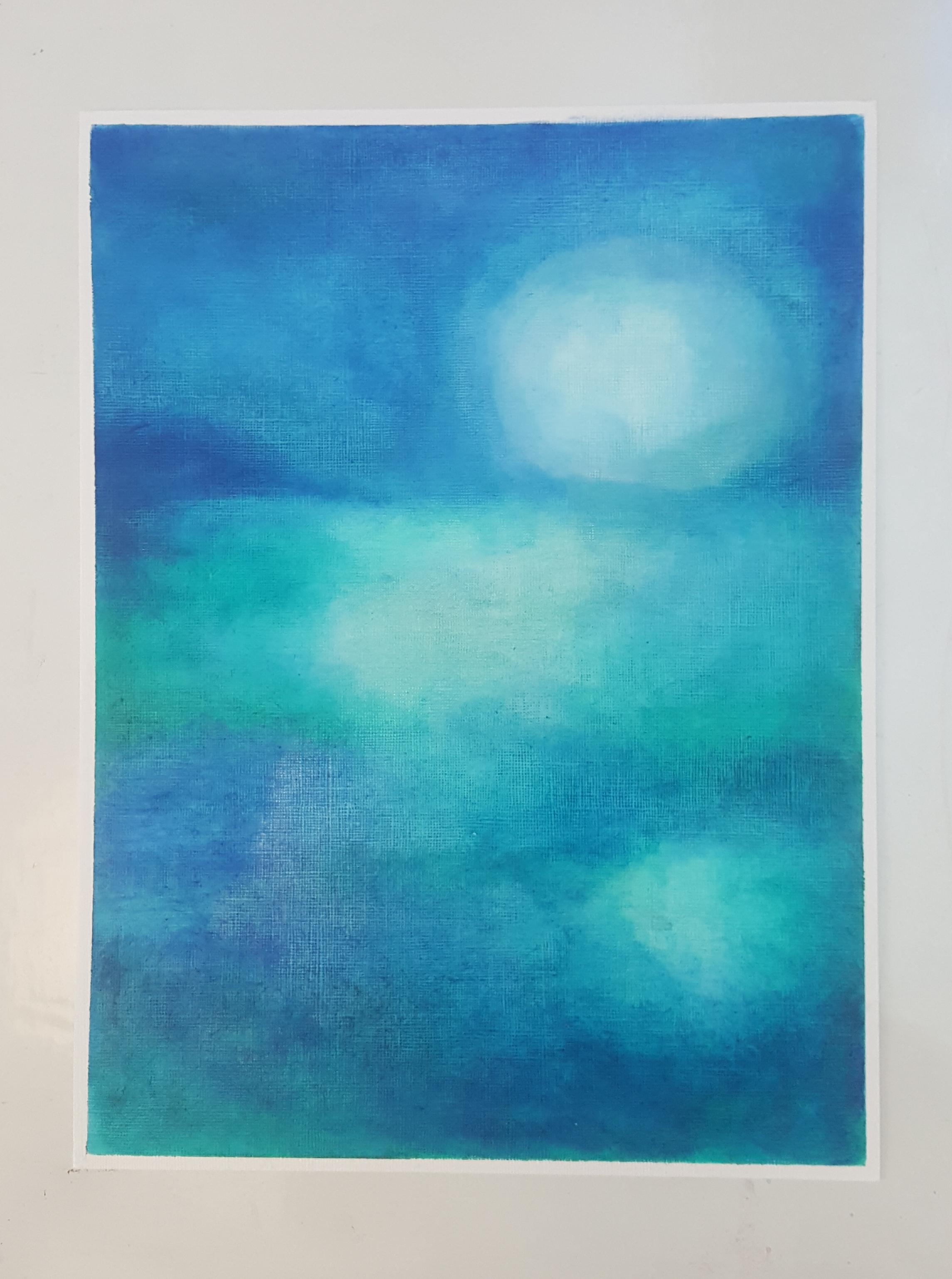 ציור פרי מכחולה של מיכל סלה