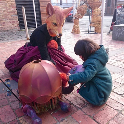 Flaneuse Fox at the Melbourne Puppetry Festival