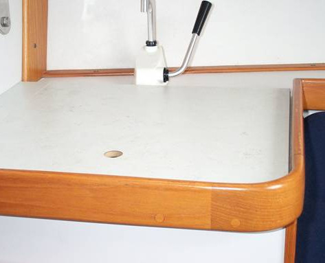 Photo #3 Cover installed over the sink