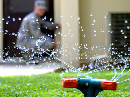 """Is it more """"water-wise"""" to use irrigation systems?"""