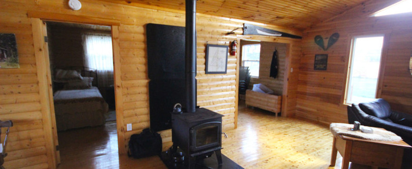 White Cliff Lodge Newfoundland (Wood Stove)