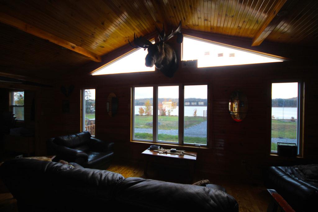 White Cliff Lodge Newfoundland (Window)