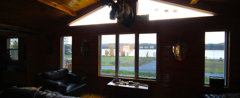 White Cliff Lodge Newfoundland (Window)