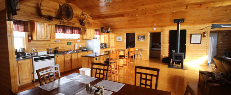 White Cliff Lodge Newfoundland (Eating Area)