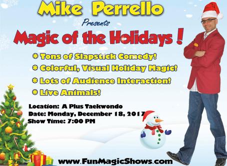 2017 December Event Schedule - Germantown Studio