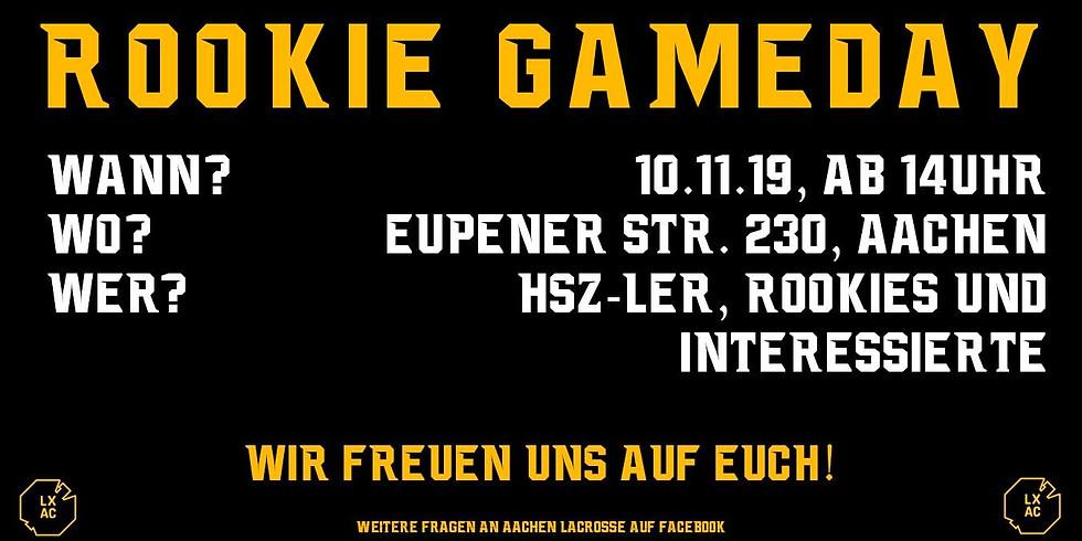 Rookie Gameday - Aachen
