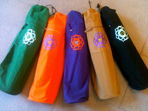 Single Chakra Yoga Mat Bag