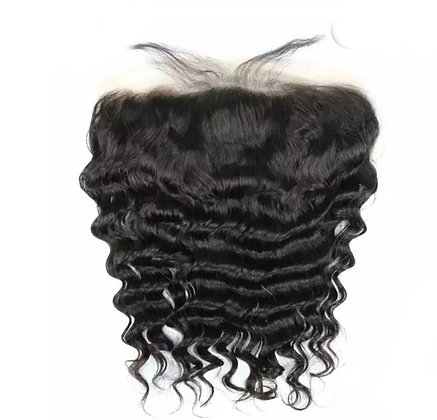 13x4 Transparent  Wavy Lace frontal