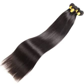 "Long inches 32"" - 40"" Straight Hair Bundle Deals"