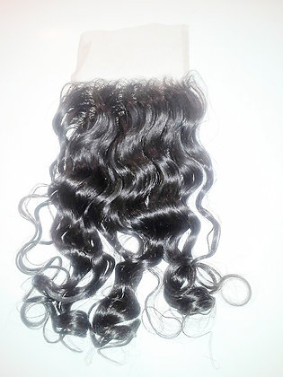 4x4 Wavy Curly Lace Closure