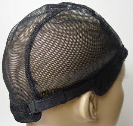 Mesh Cap With Adjustable Straps