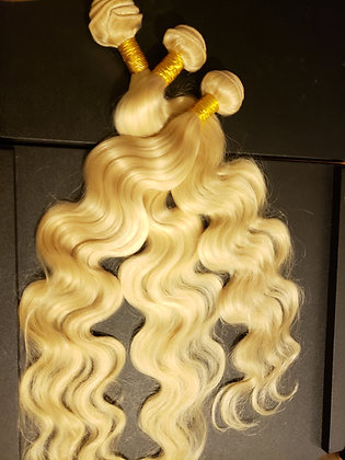 613 Blonde Body Wave 3 Bundle Deal