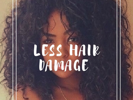 Less Damage, hair color removal