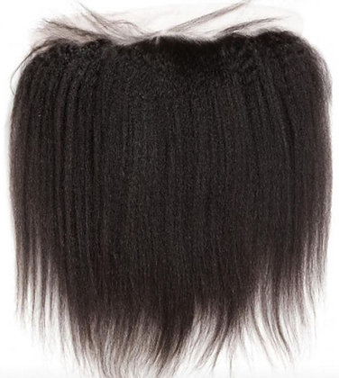 Kinky straight Lace Frontal 13×4