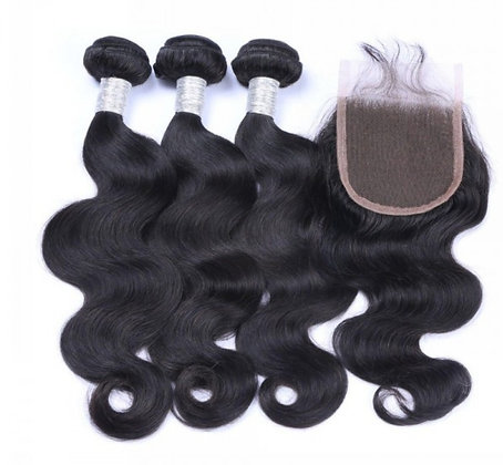 Body Wave Lace Closure Bundle Deals