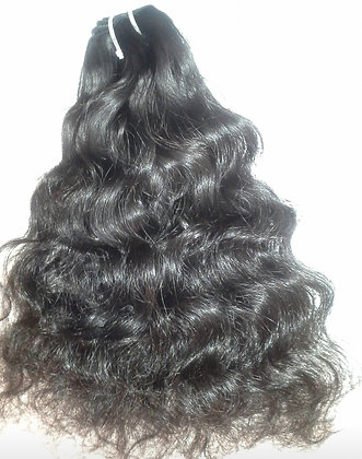 Raw Unprocessed Temple Indian Hair