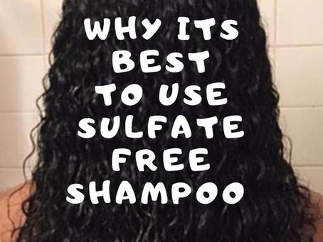 Benefits of using a sulfate free shampoo