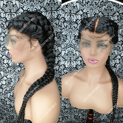 French Braided custom made