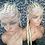 Blonde 613 Braided Feed in Full lace wig 24 inches