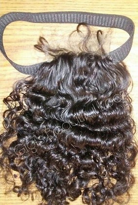 4x4 Loose Curl Elastic Band Lace Closure