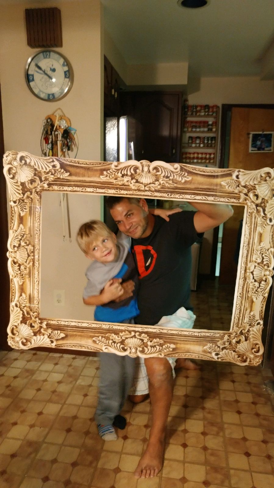 Oversized Photo Frame