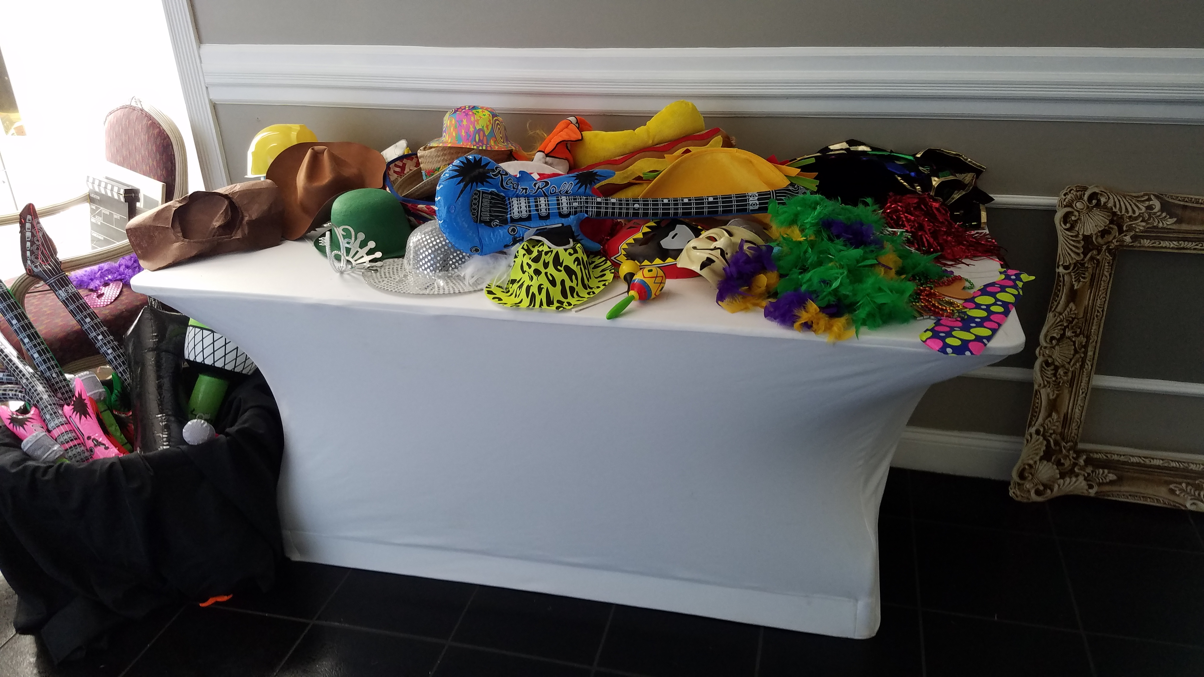 Kids Prop Table