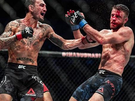 """UFC 챔프 볼카노프스를 깜짝 놀라게 한 맥스 할로웨이의 경기력, """"이런 젠장!"""""""