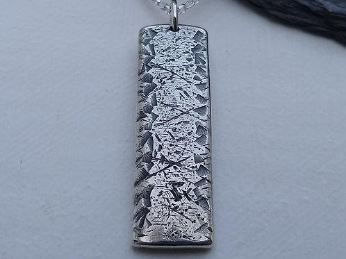 'Dusky Lake' pendant