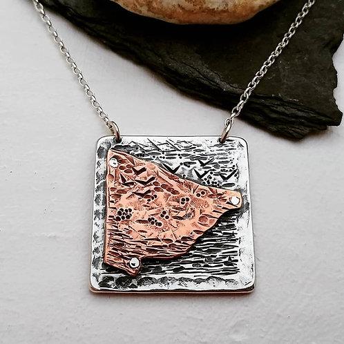'Coastal Landscape' pendant