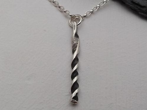 'Drill-bit' pendant